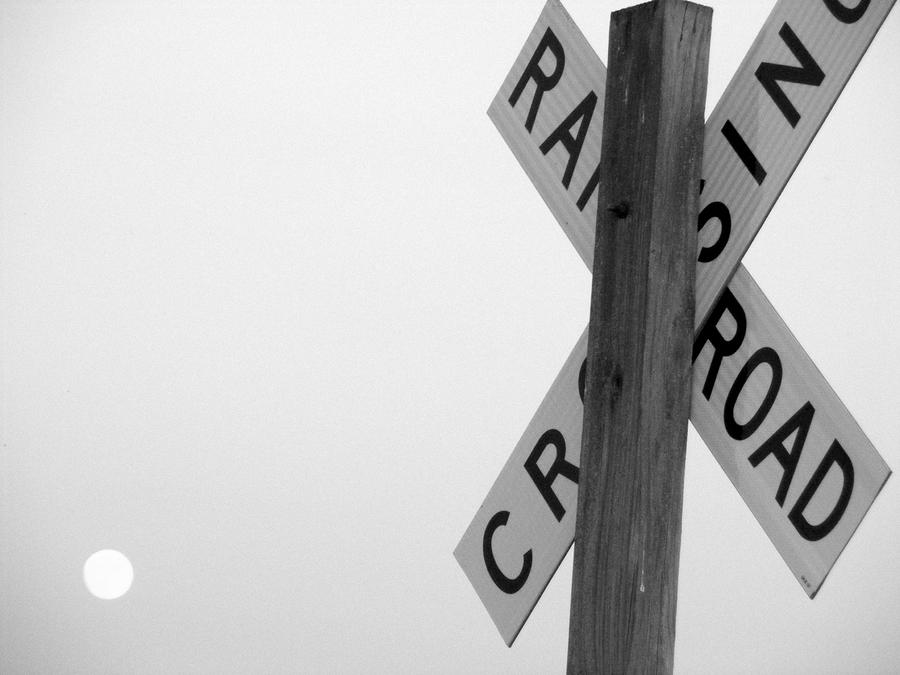 Moonshine Crossing Photograph  - Moonshine Crossing Fine Art Print