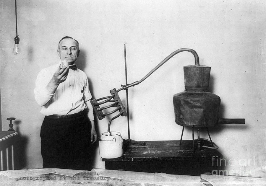 Moonshine Distillery, 1920s Photograph
