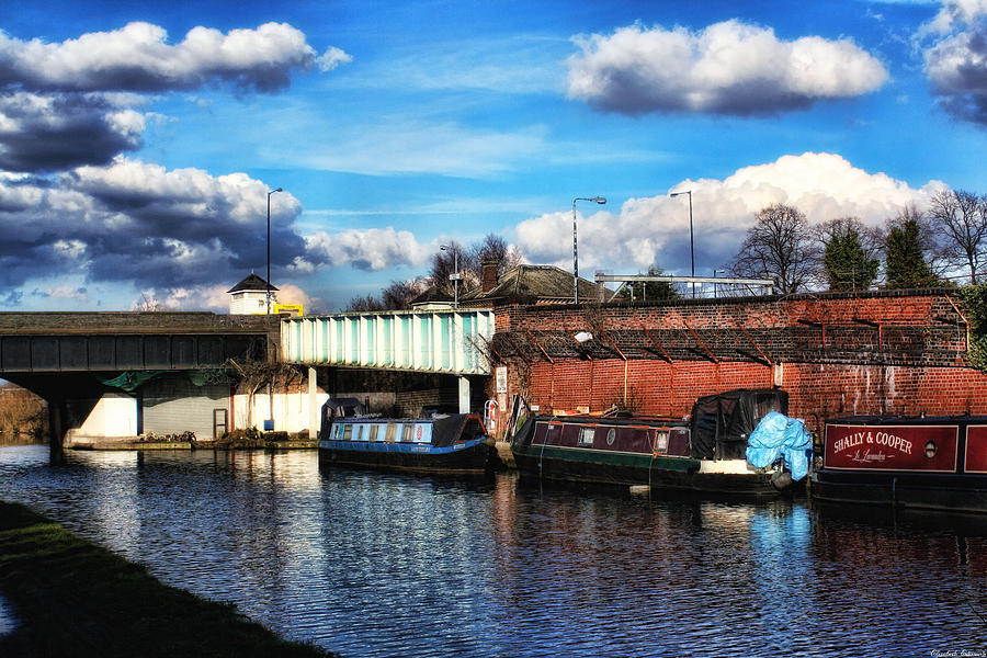Mooring Near The Bridge Photograph  - Mooring Near The Bridge Fine Art Print