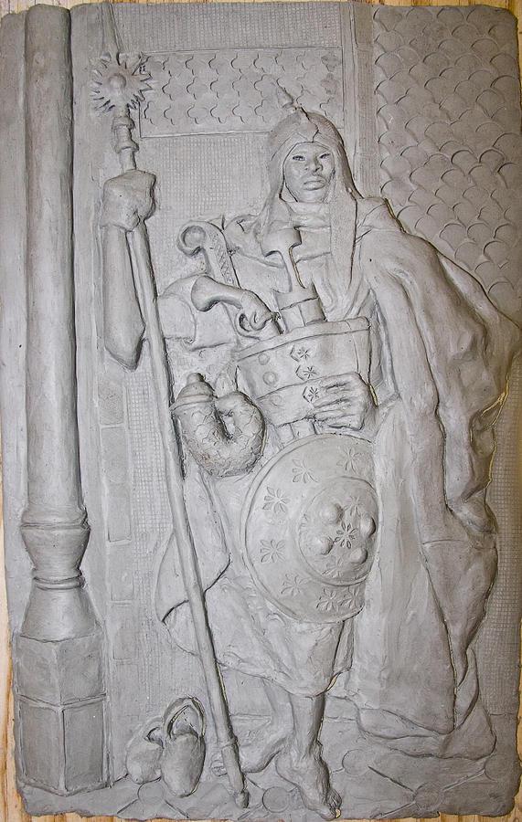 moorish Guard Sculpture
