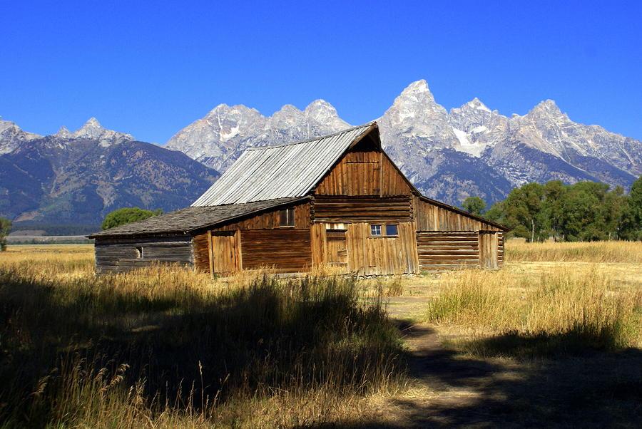 Mormon Row Barn 2 Photograph
