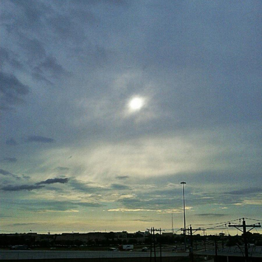 Andrography Photograph - #morning #andrography #nexuss #clouds by Kel Hill
