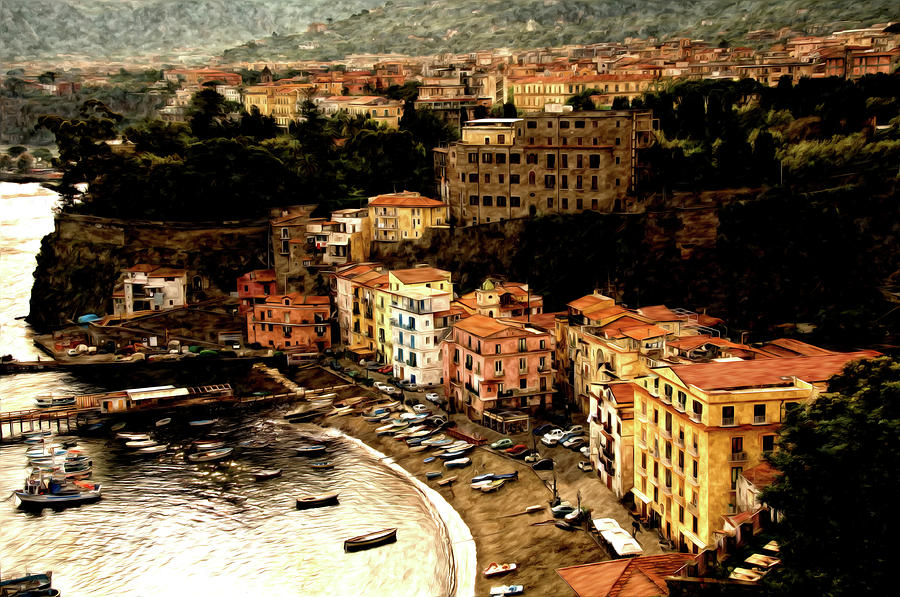 Morning In Sorrento Italy Photograph  - Morning In Sorrento Italy Fine Art Print