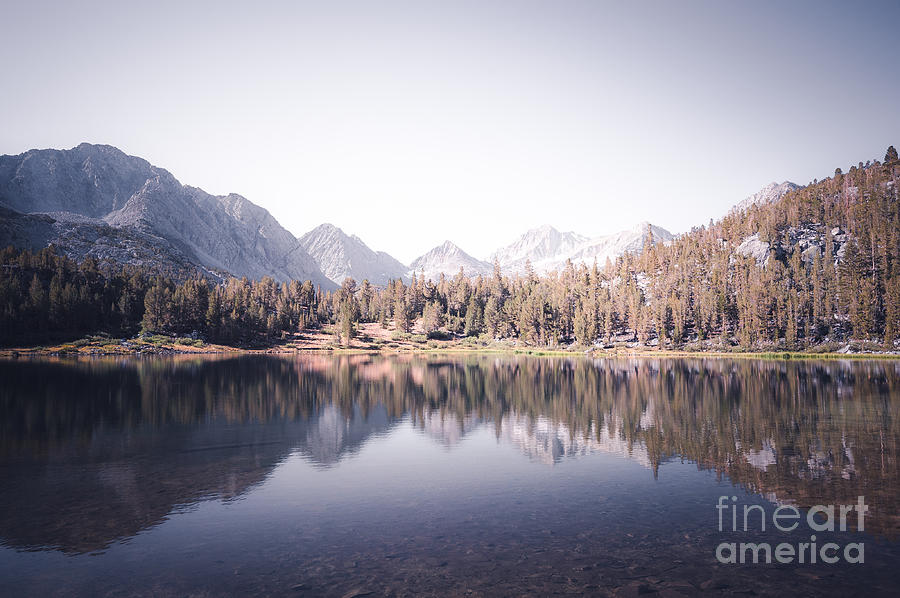 Morning Light At Heart Lake Photograph  - Morning Light At Heart Lake Fine Art Print