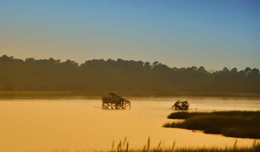 Morning On The Bay Photograph  - Morning On The Bay Fine Art Print