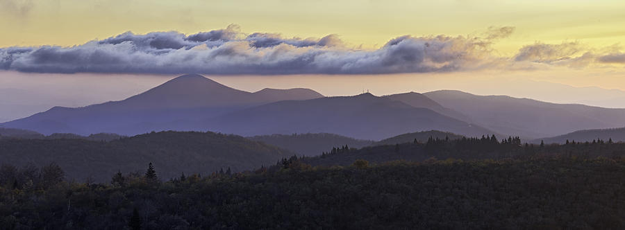 Morning On The Blue Ridge Parkway Photograph