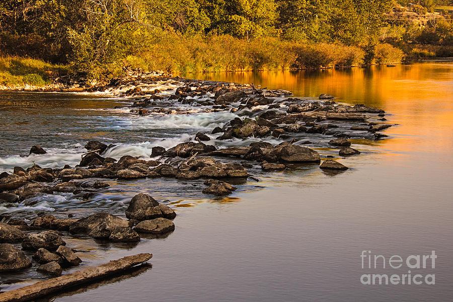 Idaho Photograph - Morning Reflections by Robert Bales