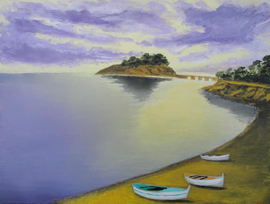 Morning Sea Painting