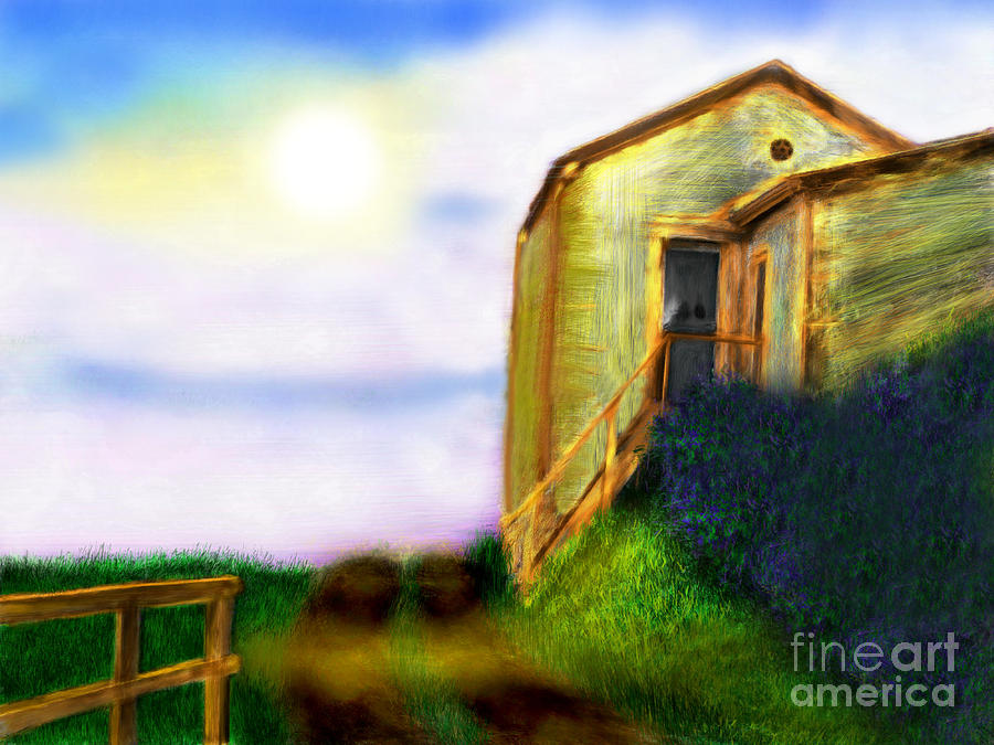Morning Sunshine Digital Art  - Morning Sunshine Fine Art Print
