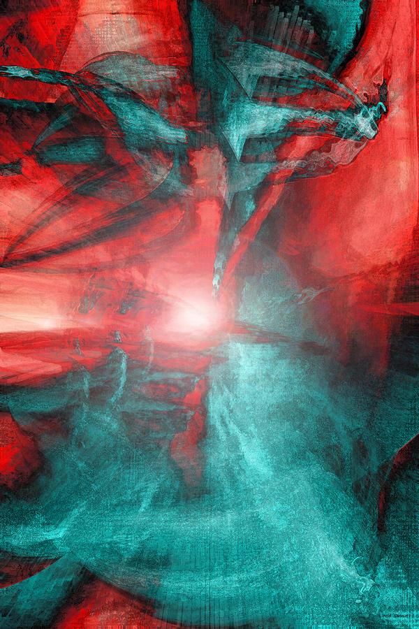 Morphing Thru Time Digital Art
