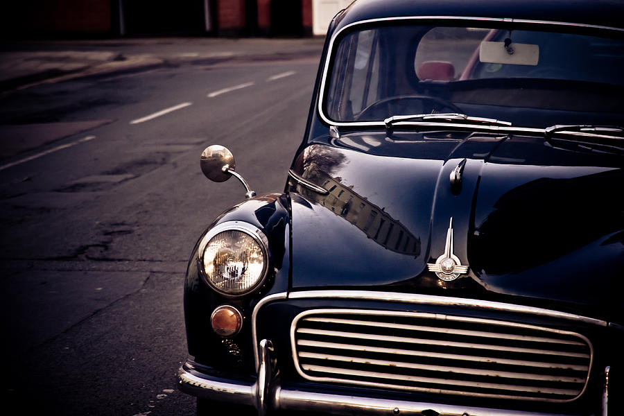 Morris Minor Photograph  - Morris Minor Fine Art Print