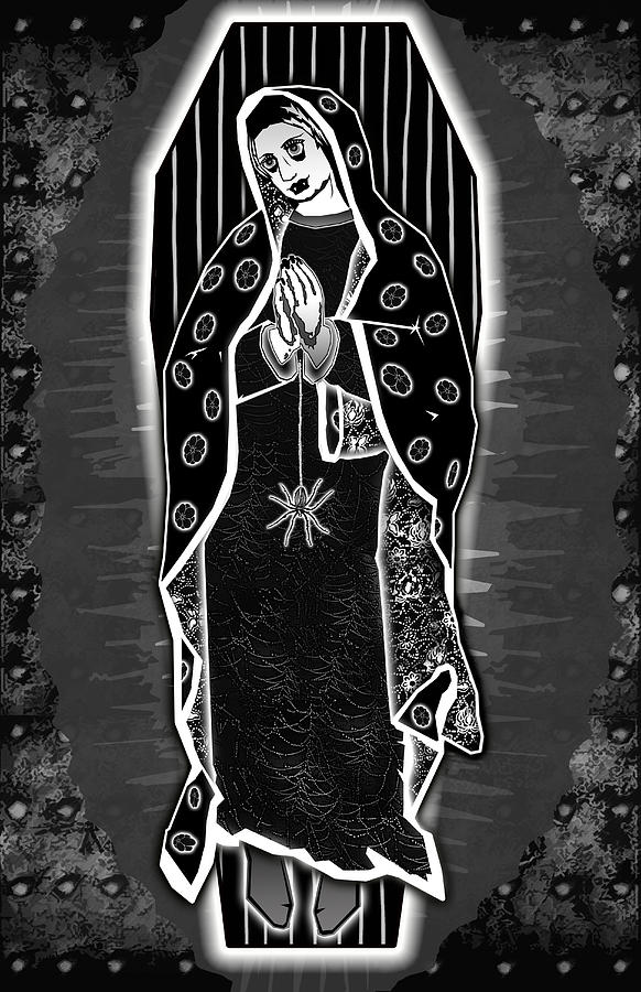 Morticia Guadalupe Digital Art
