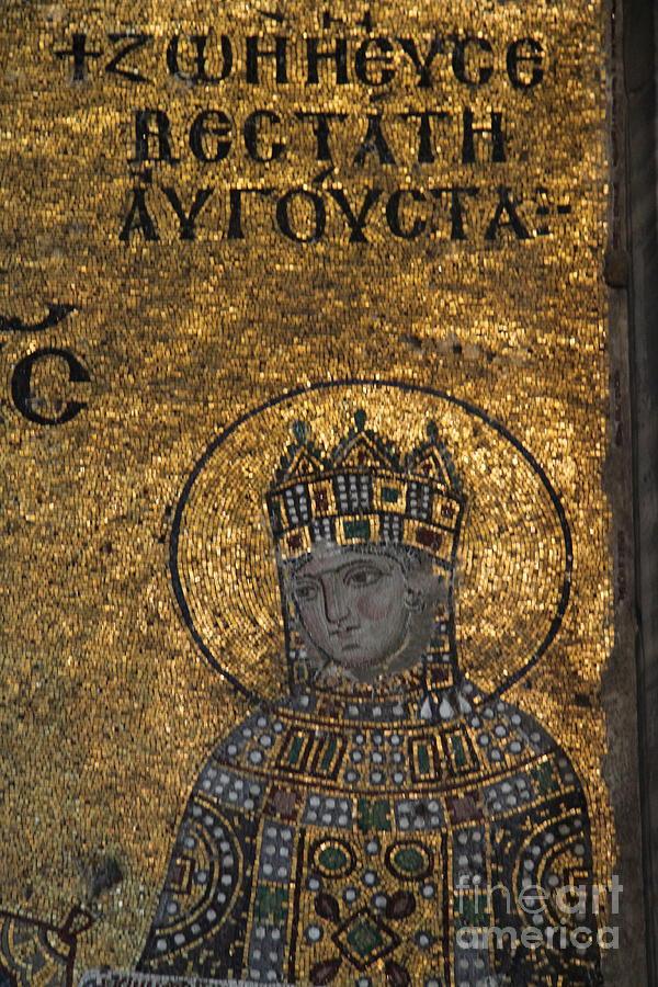 Mosaic Hagia Sophia I - Istanbul Photograph