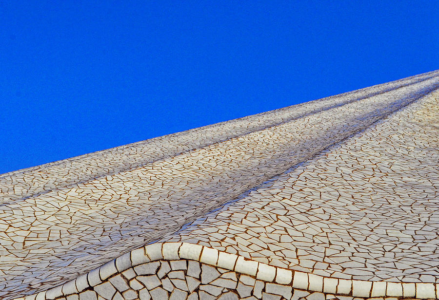 Mosaic Roof Photograph