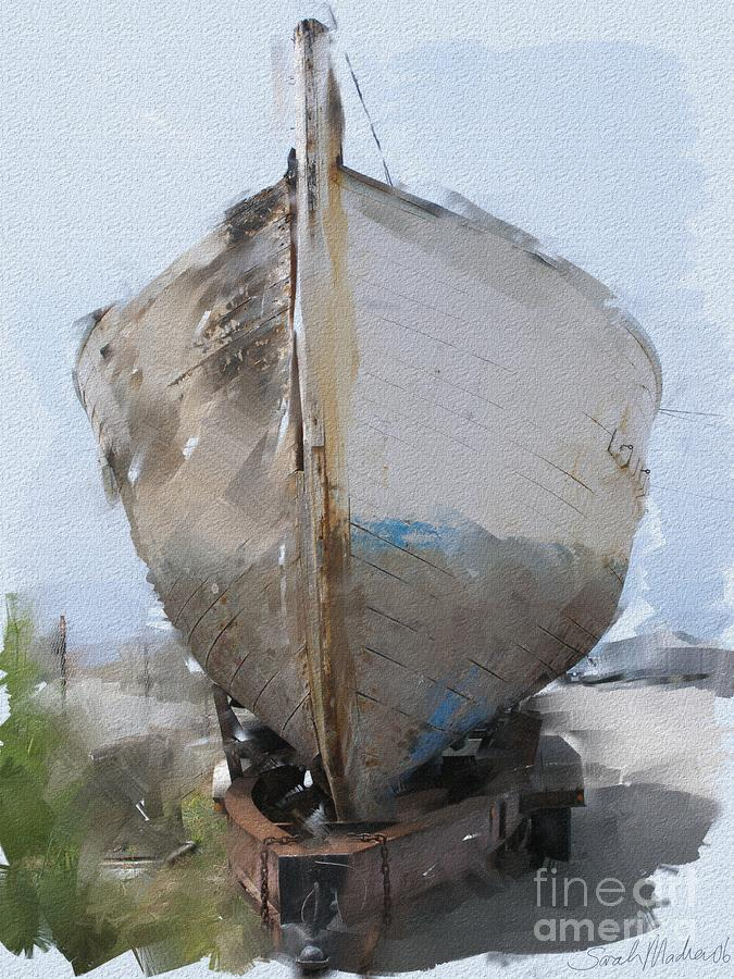 Moss Landing Boat Painting