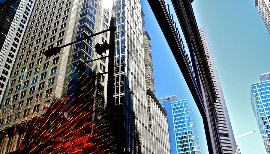 Modern Buildings Photograph - Mostly Reflections In Sydney by Kirsten Giving