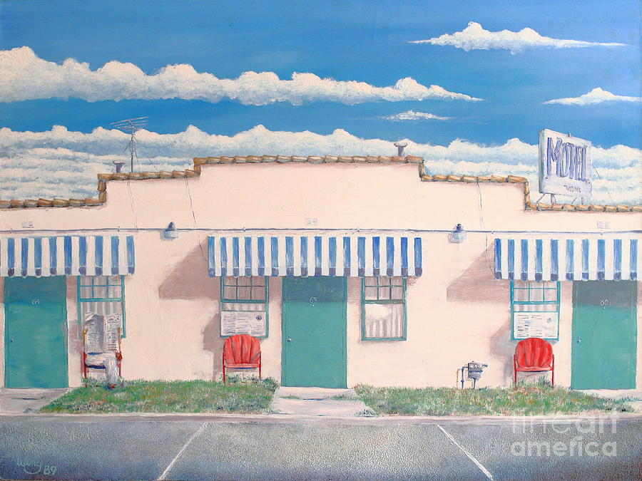 Motel Six . 1989 Painting