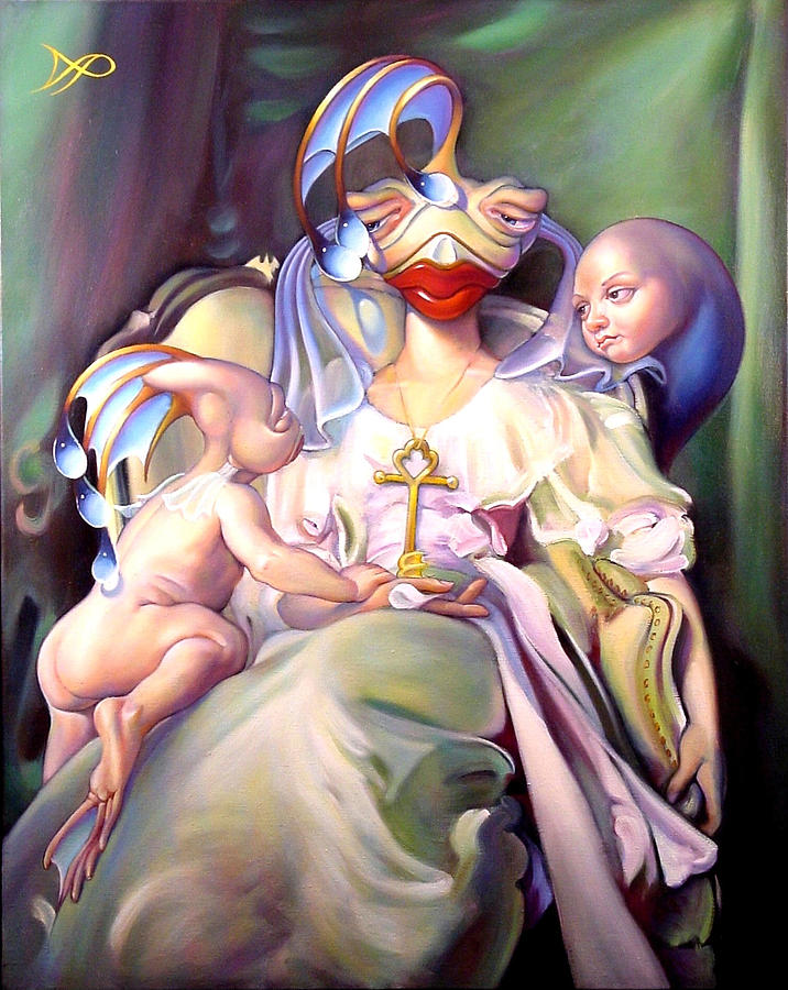 Mother And Child Reunion Painting  - Mother And Child Reunion Fine Art Print