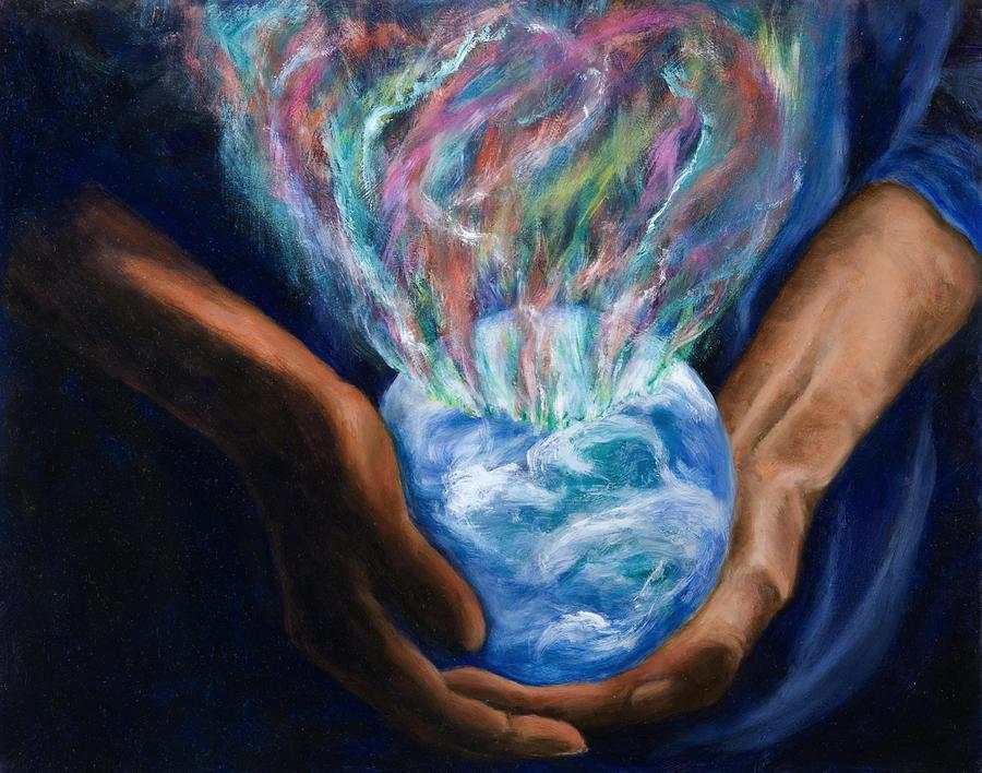 Mother Earth Celebrates by Vianne Korhorn