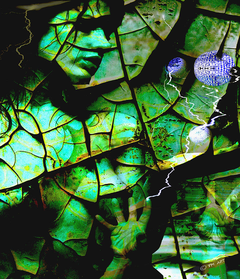 Mother Earth Digital Art - Mother Earth by Yvon van der Wijk