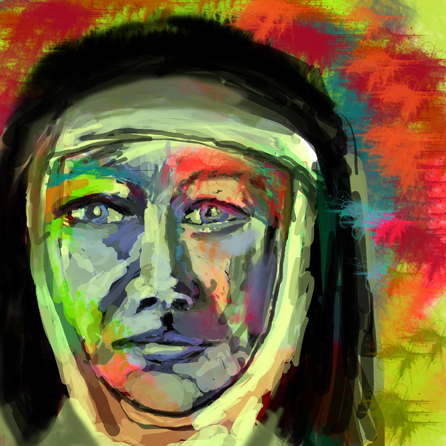 Mother Mary Mackillop Digital Art
