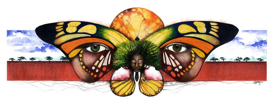 Mother Nature Vi Mixed Media