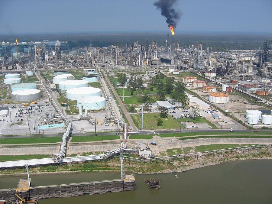 Motiva Petroleum Refinery Is Located Photograph