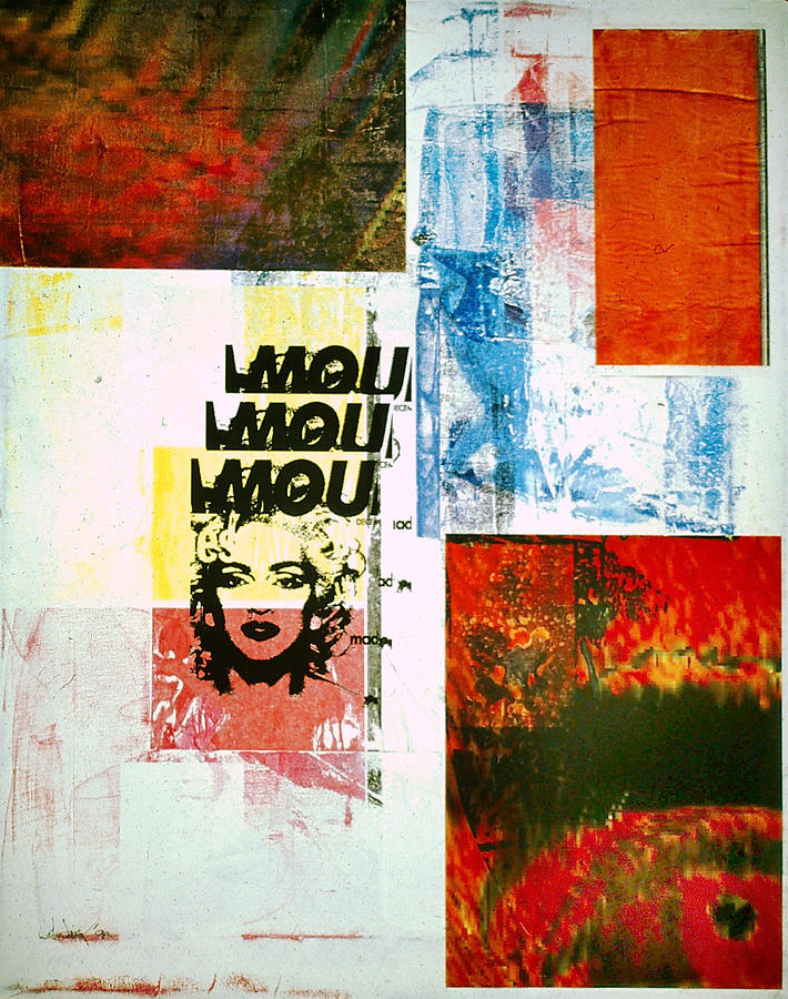 Abstract Mixed Media - MOU by David Deak