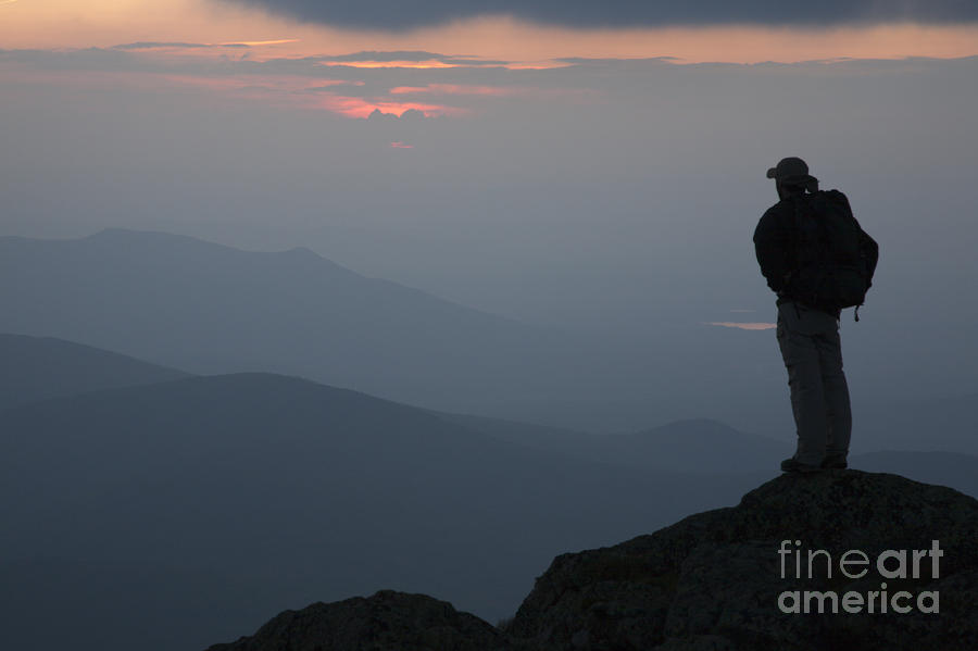 Mount Clay Sunset - White Mountains New Hampshire Usa Photograph  - Mount Clay Sunset - White Mountains New Hampshire Usa Fine Art Print