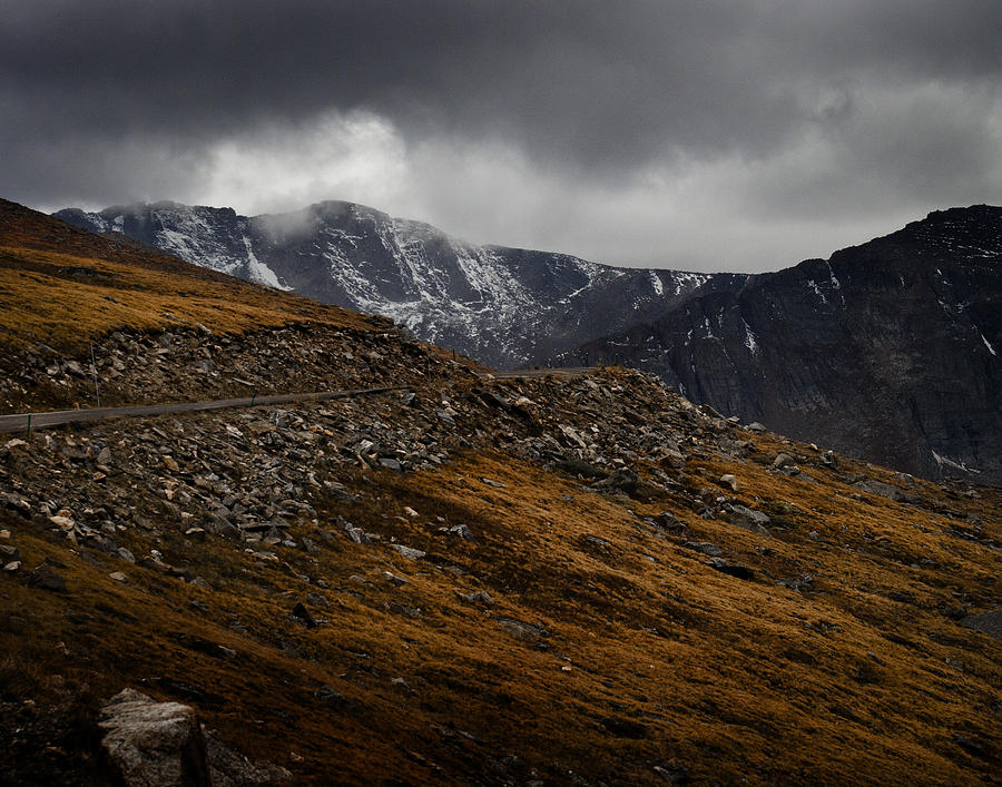 Scenic Photograph - Mount Evans by Jim Painter