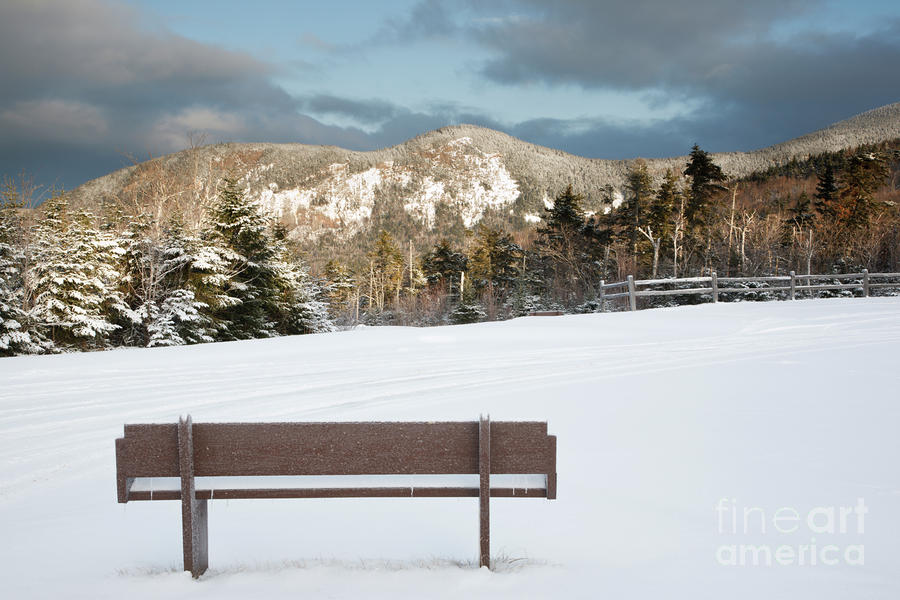 Mount Huntington - White Mountains New Hampshire  Photograph  - Mount Huntington - White Mountains New Hampshire  Fine Art Print