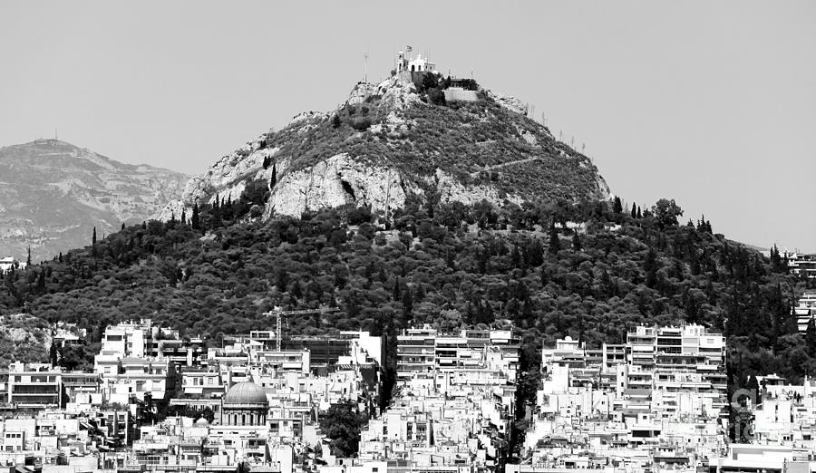 Mount Lykavittos Photograph