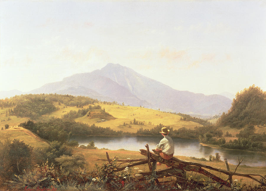 Mount Mansfield Painting - Mount Mansfield by Jerome Thompson