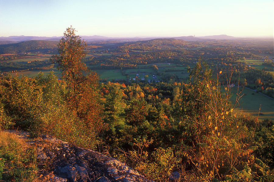 Mount Philo Foliage View Photograph