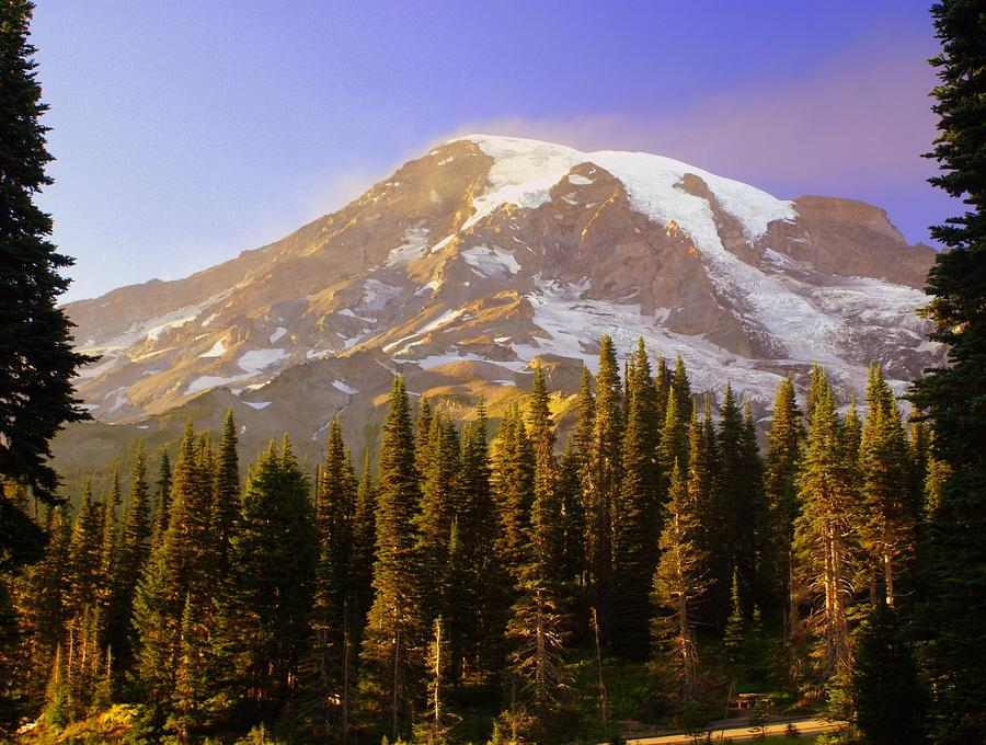 Mount Raineer 2 Photograph  - Mount Raineer 2 Fine Art Print