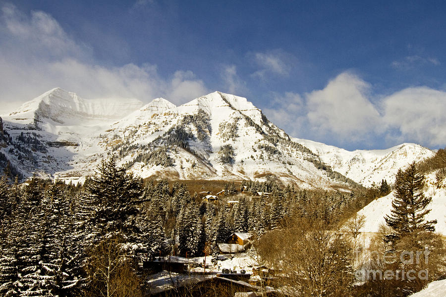 Mount Timpanogos Photograph