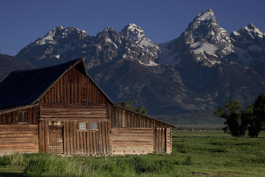 Mountain Barn Photograph
