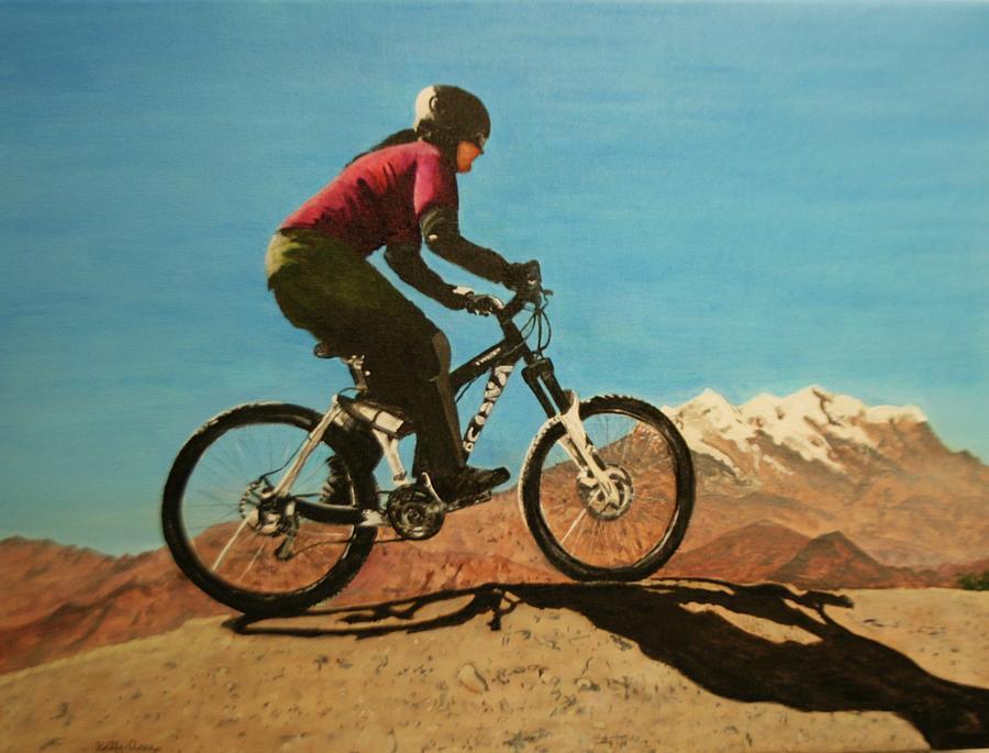 Mountain Bike Ride In Bolivia by Betty-Anne McDonald
