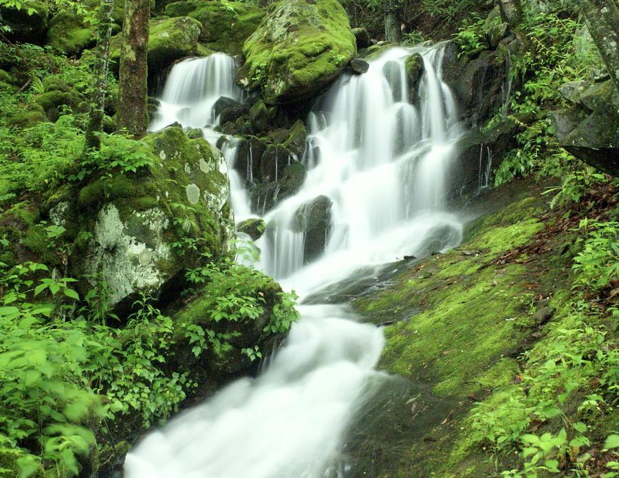 Mountain Falls Photograph