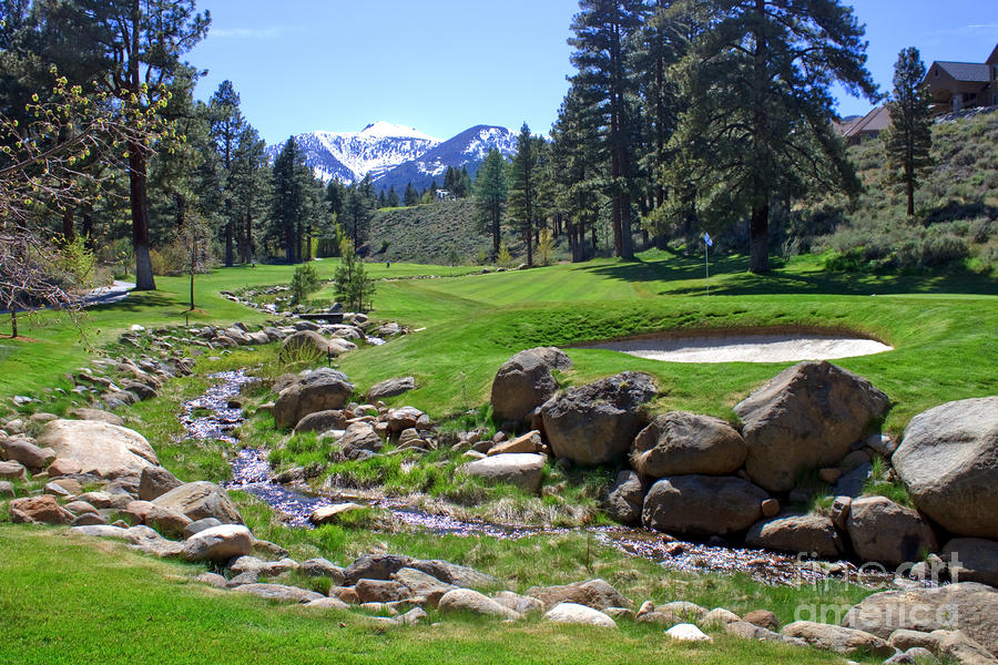 Mountain Golf Course Photograph