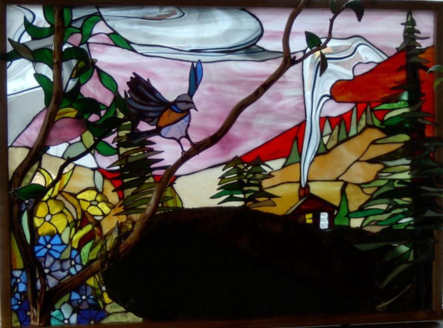 Mountain Home Glass Art