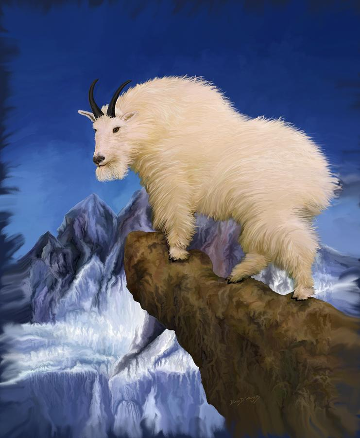 Mountain King Painting  - Mountain King Fine Art Print