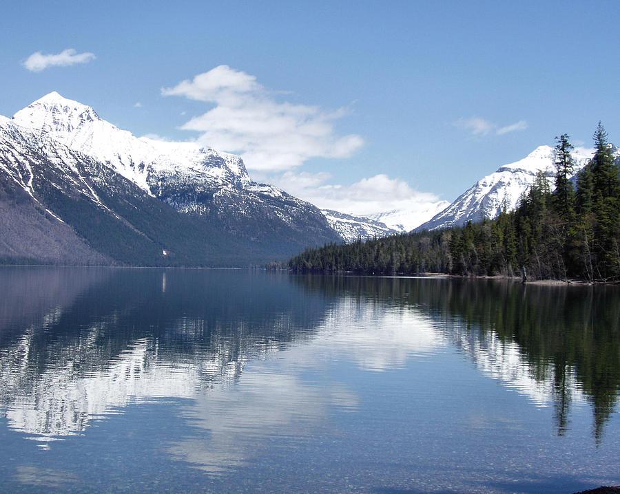 Mountain Reflections Photograph