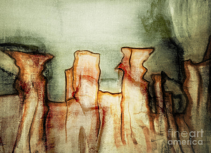 Mountainous Abstract. Photograph  - Mountainous Abstract. Fine Art Print