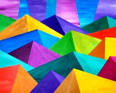 Mountainprism Painting
