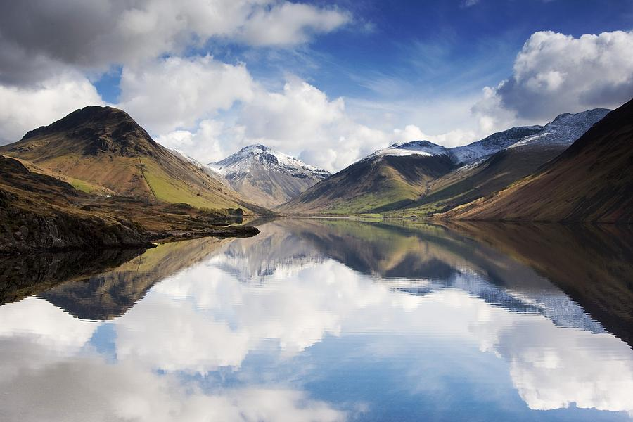 Mountains And Lake, Lake District Photograph  - Mountains And Lake, Lake District Fine Art Print