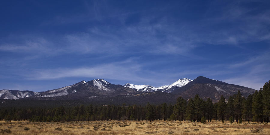 Mountains In The Desert Photograph