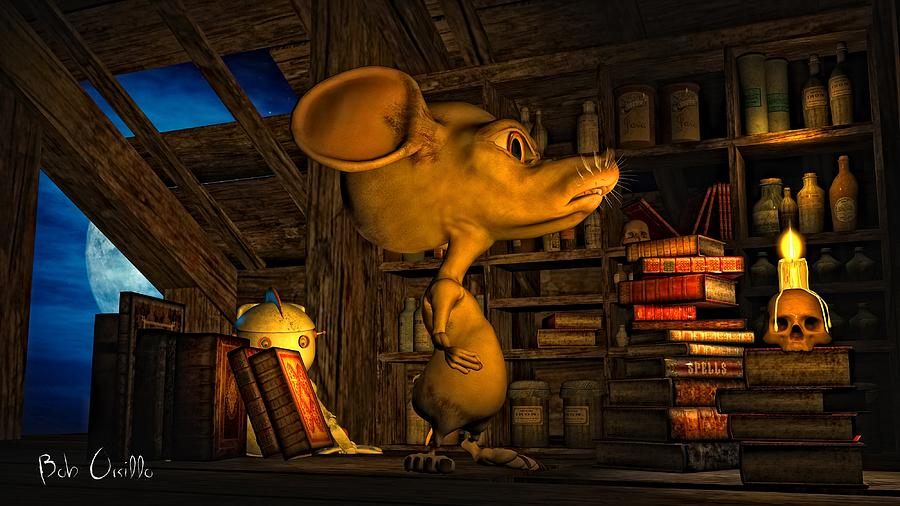 Mouse In The Attic Photograph