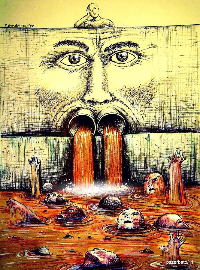 Mouth Speaks What The Heart Is Full Digital Art