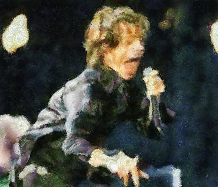 Move Like Jagger Painting  - Move Like Jagger Fine Art Print
